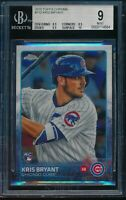 2015 Topps Chrome Kris Bryant Rookie RC BGS 9 Mint Card #112 Chicago Cubs