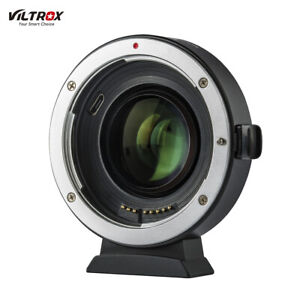 Viltrox EF-EOS M2 Auto Focus Lens Mount Adapter Ring 0.71X Focal for EF to EF-M