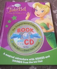 DISNEYS TINKERBELL AND THE GREAT FAIRY RESCUE BOOK AND AUDIO CD DISNEY