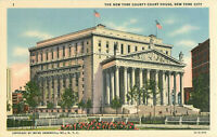 Postcard The New Yourk County Court House, New York, NY