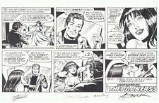 Spider-Man Sunday Strip 11/20/2016 Peter & MJ art by Alex Saviuk Signed Stan Lee