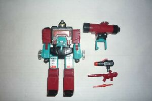 TRANSFORMERS G1 PERCEPTOR ALMOST COMPLETE LOOSE ORIGINAL 1985 HASBRO