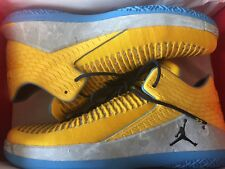 Nike Air Jordan 32 Low XXX2 MARQUETTE s 11 Player Sample Edition PE XXXII yellow