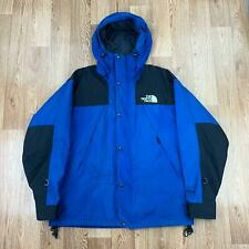 Vintage THE NORTH FACE Mens MOUNTAIN GUIDE Jacket | GORETEX 90s | Large L Blue