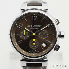 LOUIS VUITTON Tambour Automatic Chronograph Q1121 41mm Stainless Steel