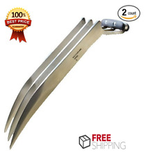 "Logan X Men Claw Dagger 11"" Wolverine Claws Marvel Stainless Steel Set of 2 New"