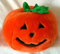 Jack-O-Lantern Vintage Plush Steven Smith Halloween Orange Pumpkin Stuffed Toy