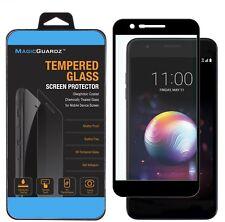 FULL COVER Premium Tempered Glass Screen Protector For LG K30/K10 2018/K10+/K10a