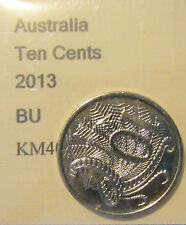 2013 Australia 10c Ten Cent UNCIRCULATED FROM MINT SET