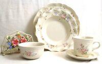 Pfaltzgraff Tea Rose 5 Piece Dinnerware Set