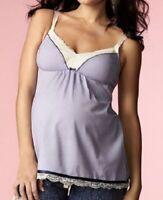 HOTMilk Maternity Nursing Camisole Purple UK 10-12 NEW