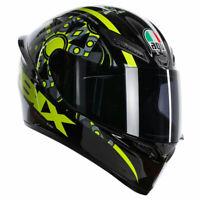 AGV K1 Flavum 46 Full Face Motorcycle Motorbike Helmet