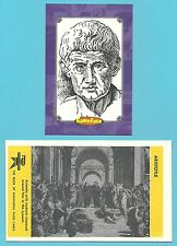 ARISTOTLE Fab Card Collection Greek philosopher and scientist