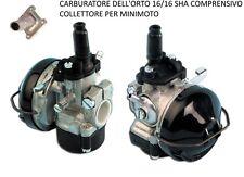 CARBURATORE DELLORTO  SHA 16/16 ITALIA ORIGINALE