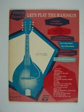 Harry Reser's Let's Play the Mandolin Paperback