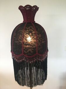 NEW HAND CRAFTED LACE  SHADE FOR FLOOR LAMP*store Will Be Closing Soon*