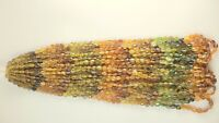 Natural Petrol Tourmaline Oval Shape gemstone beads 8'' Inch 4.5X5.5 mm AAA