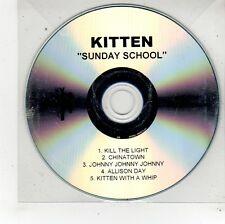 (FU323) Kitten, Sunday School - DJ CD