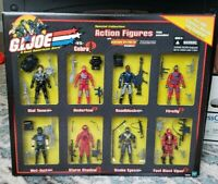 GI Joe vs Cobra Special Collection Figures Sound Attack BJ'S EXCLUSIVE PACK 2002