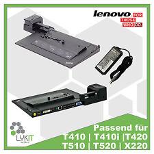 Lenovo Dockingstation 4337  T410 | T420 | T430 | T520 | T530 | mit 90W Netzteil
