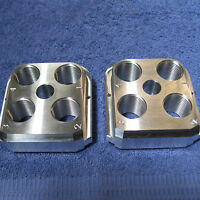 (2) Dillon Precision RL 550 Style Billet Aluminum Toolheads (2)  tool head