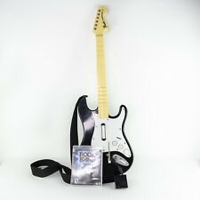 PS3 Fender Stratocaster Wireless Rock Band Guitar with Dongle Strap & Game