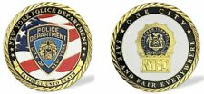 NYPD Police Officer / NYPD Detective Challenge Coin Shield Badge Medallion NYC