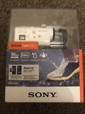 Sony Mini Action Cam HDR-AZ1 Splash Proof Image Stabiliser Wifi / Nfc - White