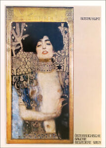Gustav KLIMT Judith Galerie Vienna 1978 Poster Print 16 x 11