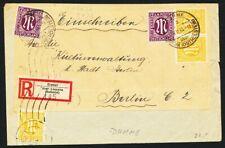 302551) all. Bes. AM PPOst R-Blg. aus Cismar über Lensahn Holstein