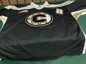 Vintage Reebok Chilliwack Bruins #28 Oscar Moller Jersey Xl WHL