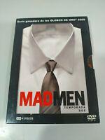 Mad Men Stagione Seconda 2 Completa - 4 X DVD Spagnolo Inglese