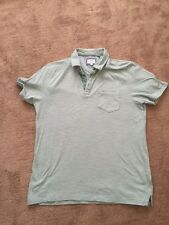 'Next' - Mens Tee-Shirt - Green & White Stripe - size M