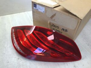 Mercedes Benz S63 AMG S550 S600 OEM Rear Passenger Tail Lamp Assembly 2229065701