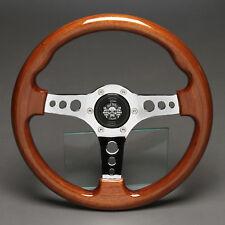 Holzlenkrad Sportlenkrad Holz 330mm Nabe Fiat 500 595 600 Steyr Puch Abarth