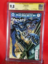 DC Comics UNIVERSE REBIRTH Batman #28 CGC SS 9.8 Signed By Neal Adams VARIANT
