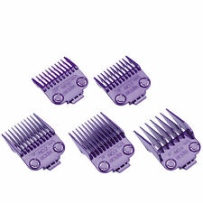 Andis Nano Silver 2 Magnetic Attachment Guide Clipper Comb 5pcs Set Small #01410