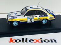 TROFEU TF1012 FORD Escort RS 1800 MkII Rothmans n°6 RAC 1979 1.43