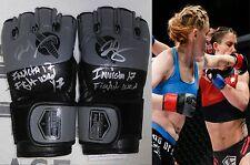 Tonya Evinger Signed Invicta FC 17 Fight Used Worn Gloves PSA/DNA MMA UFC Auto'd