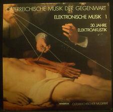 LP Autrichien musique le présent - électronique musique 1, 30 Jahre, NM