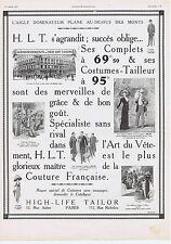 PUBLICITE ADVERTISING 054 1911 HIGH LIFE TAILOR Maître Tailleur 1