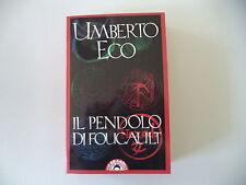 - IL PENDOLO DI FOUCAULT - UMBERTO ECO - 1990 - BOMPIANI