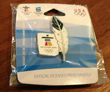 Vancouver 2010 Eagle Feather Olympic Pin