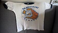White/blue 'Santorini' T-Shirt size 19