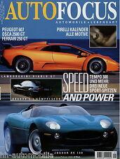 Auto Focus 1 00 2000 Jaguar XK 180 Brabus CLK Diablo GT Osca 2500 GT BMW X5 4.4i