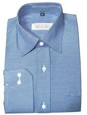 Gestreifte Klassische Herrenhemden im Kentkragen-Stil mit Kombimanschette-Ärmelart ohne Mehrstückpackung