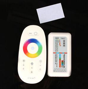 MILIGHT FUT027 RF remote controller for 5050 led rgbw strip light dimmer 12/24v