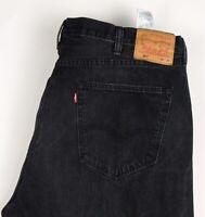Levi's Strauss & Co Herren 501 Gerades Bein Jeans Stretch Größe W44 L34 BCZ990