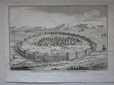 1727 FORTIFICAZIONI ANTICHE Polibio Polybius old fortifications architecture