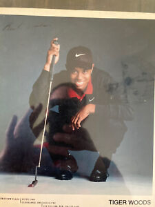 Tiger Woods Signed Photo